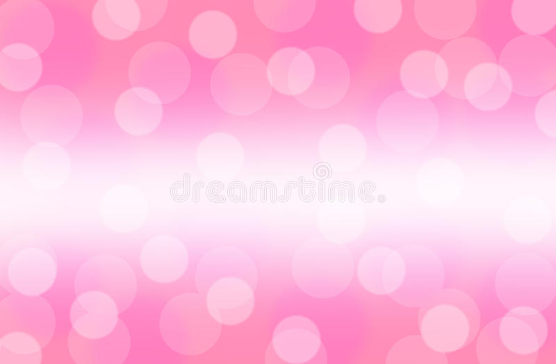 Bokeh pink abstract background wallpaper. Sweet pink bokeh abstract for background and wallpaper stock images