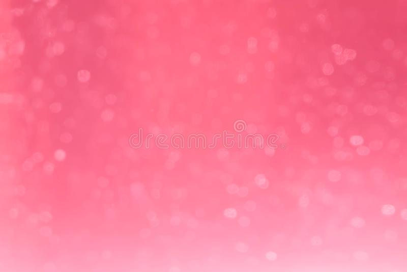 Pink bokeh for background. With blur vision