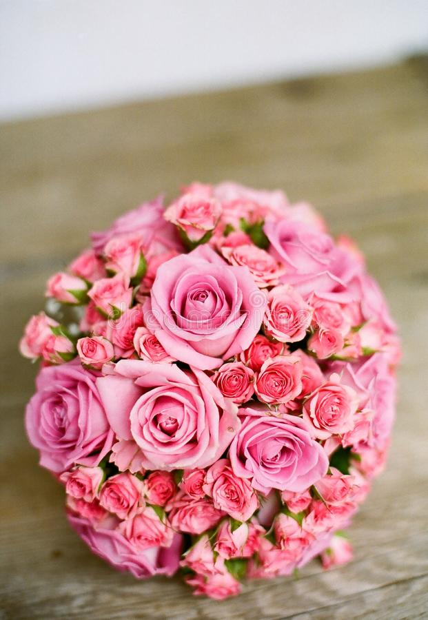 Pink Bouquet Of Flowers On Table Free Public Domain Cc0 Image