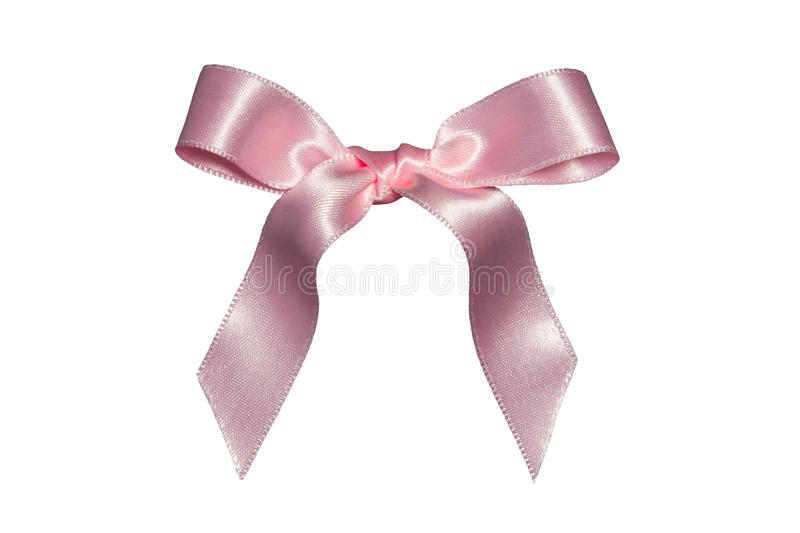 Download Pink bow,isolated stock image. Image of retail, ribbon - 12227153