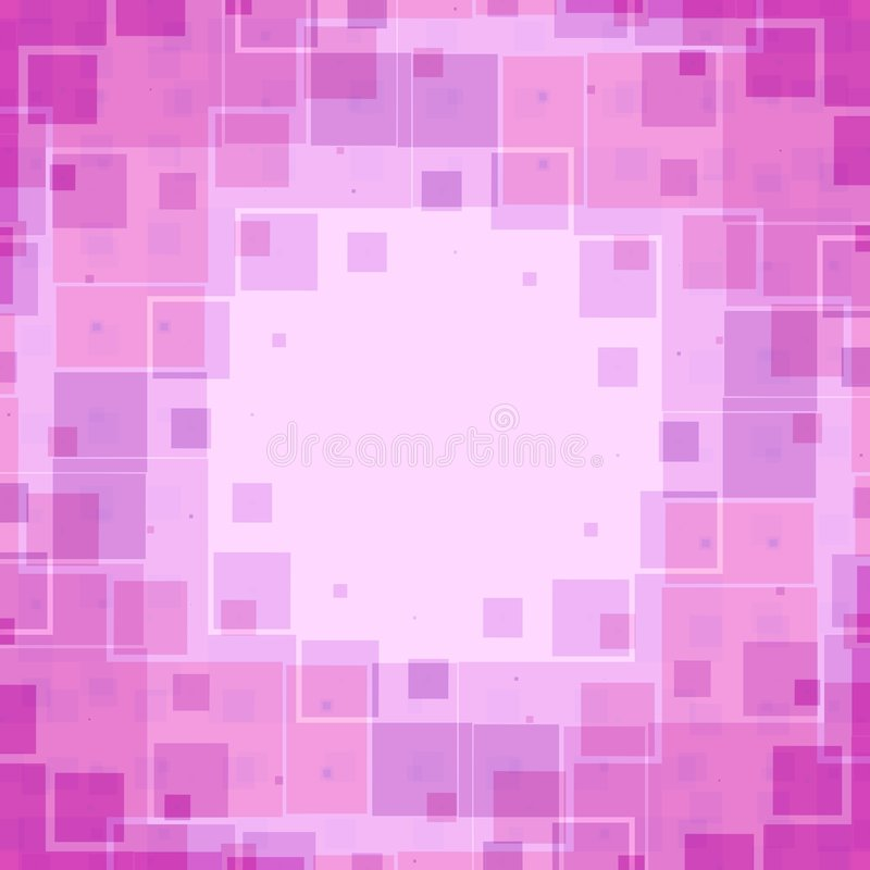 Pink Boxes Texture Pattern stock illustration