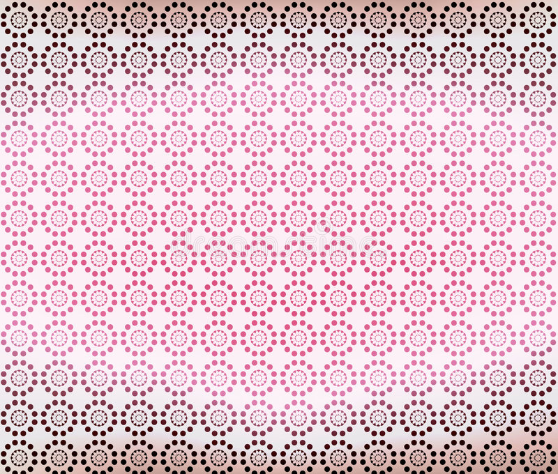 Pink Brown Geometric Wallpaper Background vector illustration