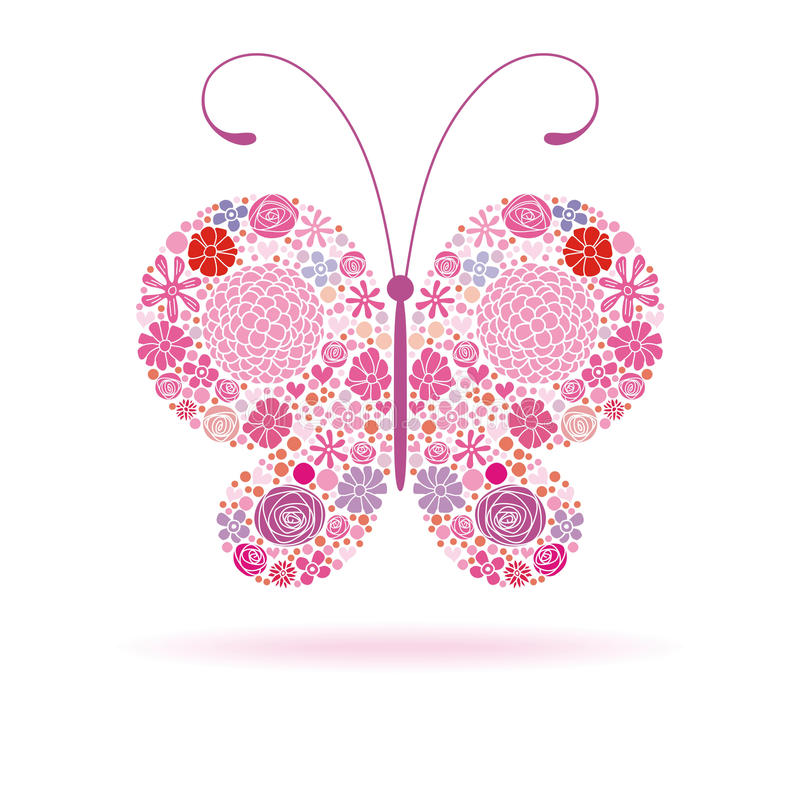 Download Pink butterfly stock photo. Image of gift, creativity - 20518440