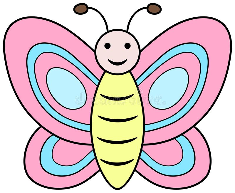 Pink Butterfly Clipart Stock Illustrations – 1,167 Pink Butterfly ...