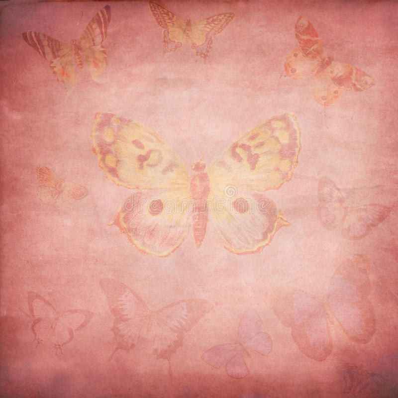 Download Pink Butterfly Fog stock illustration. Illustration of abstract - 10173204
