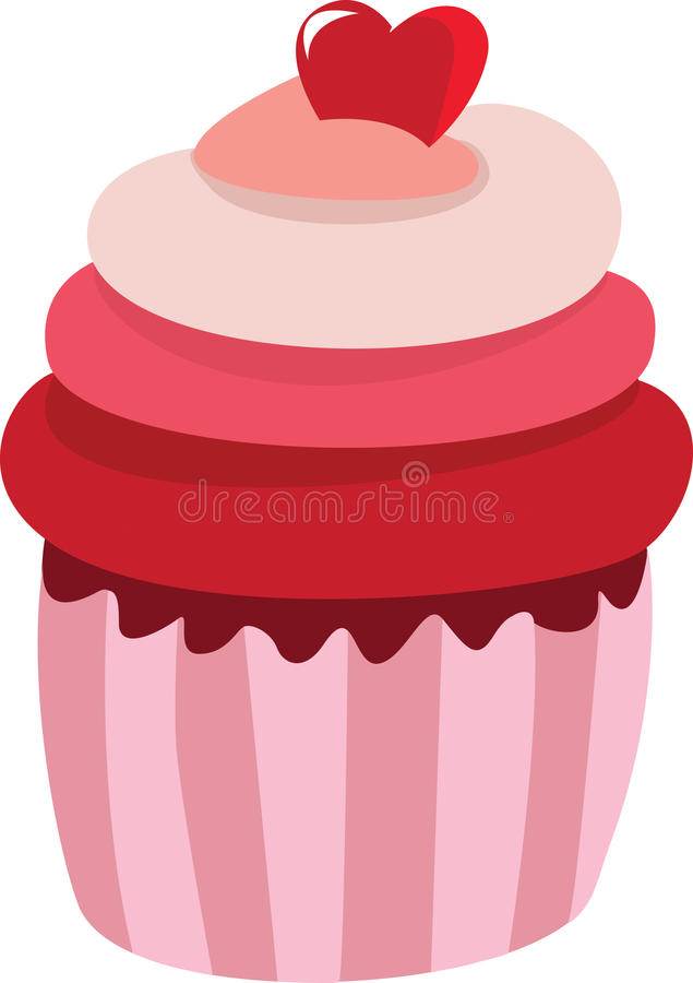 Download Pink cake stock vector. Image of fancy, cake, food, purchase - 17366821