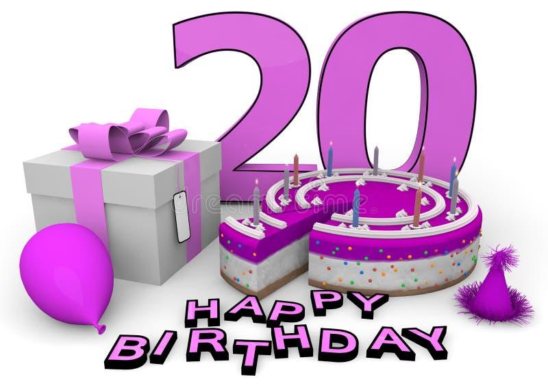 Happy Birthday royalty free illustration