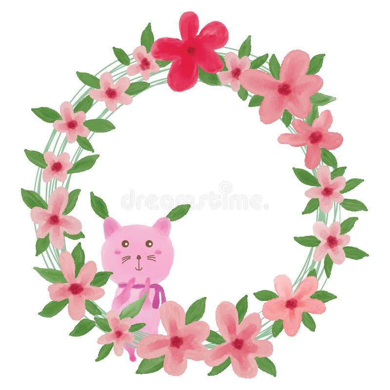 Pink cat leaf flower stock vector illustration of element 60390737 download pink cat leaf flower stock vector illustration of element 60390737 mightylinksfo