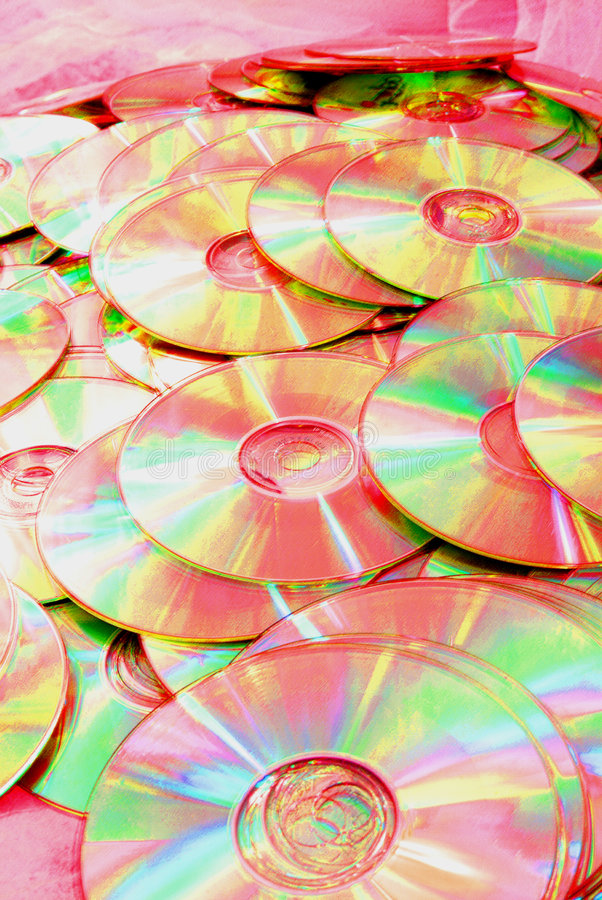 Download Pink CDs stock illustration. Illustration of light, discs - 4585641
