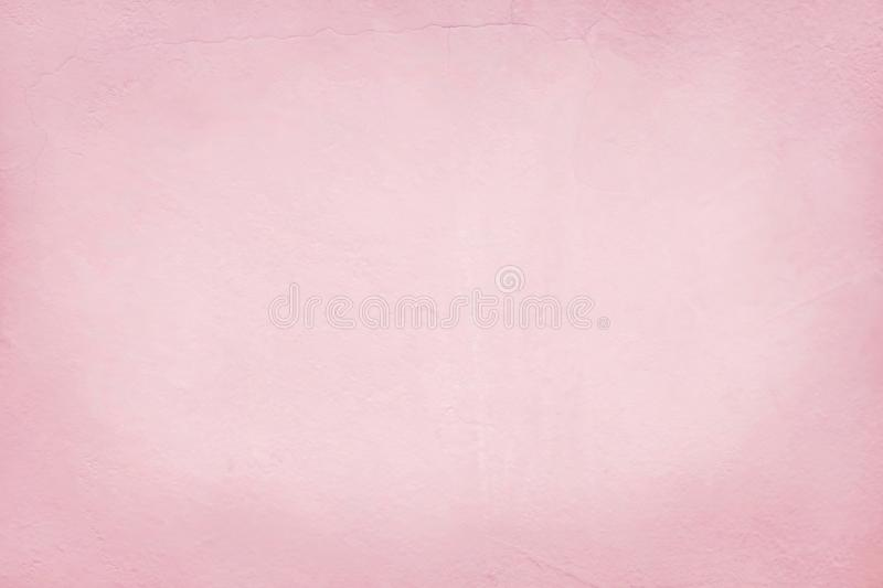 Pink cement wall texture for background and design art work.  stock images