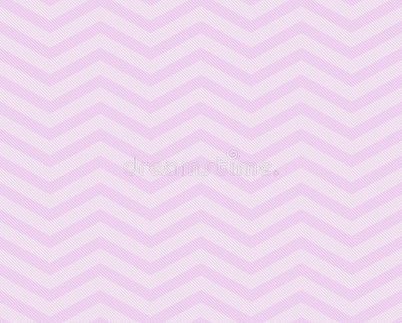 Pink Chevron Zigzag Textured Fabric Pattern Background. That is seamless and repeats stock image