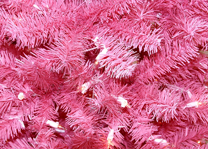 Download Pink Christmas Tree Background Stock Image - Image: 11095211