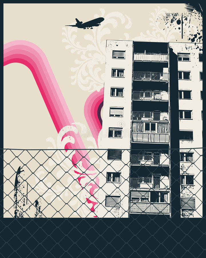 Pink City Poster