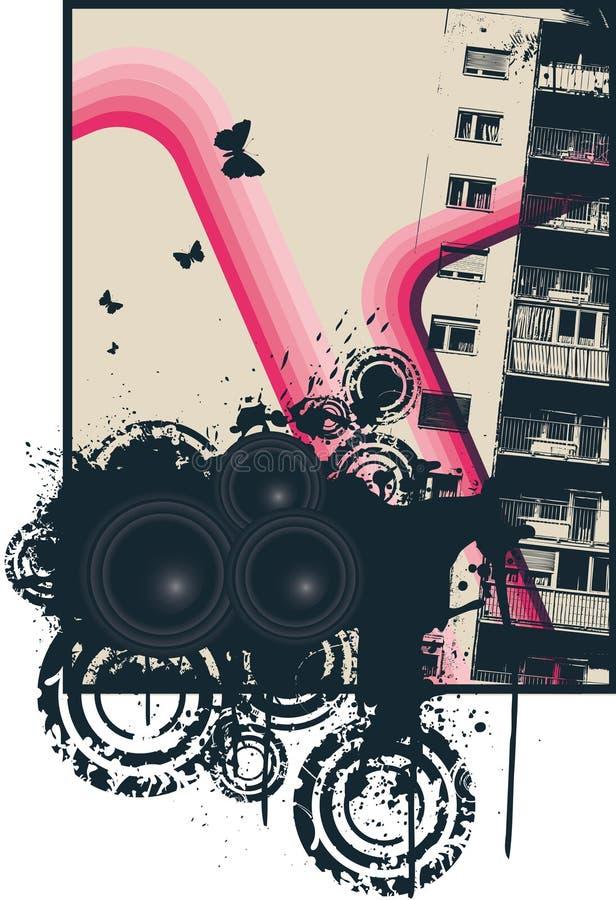 Download Pink City Poster stock illustration. Illustration of jockey - 7091814