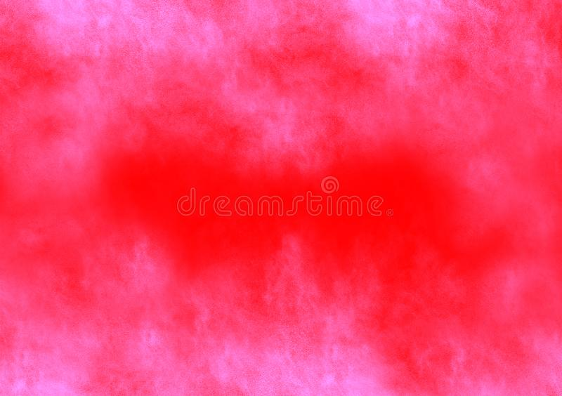 Pink cloudy splash background wallpaper design. For text and image layout stock image