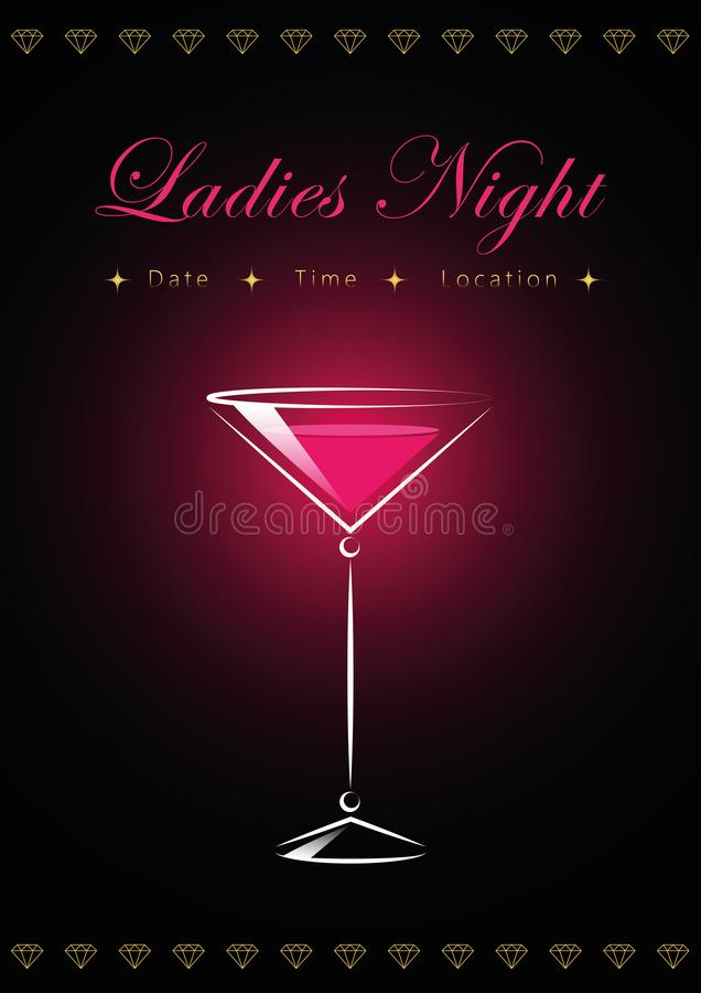 Ladies cocktail night