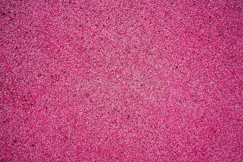 Pink color soft rubber crumb for background and texture. stock photography