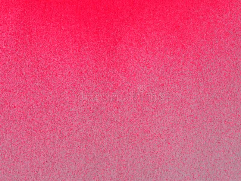 Pink color Spray Paint on white paper for background. Pink color Spray Paint on crumpled paper for background royalty free stock photography