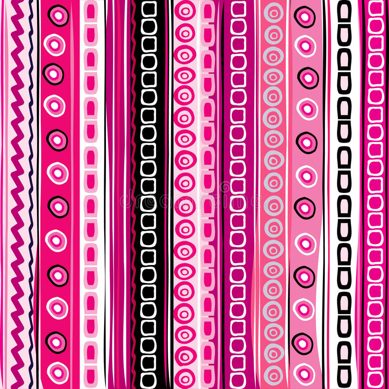Download Pink Color Striped Funny Background Stock Vector - Image: 24206147