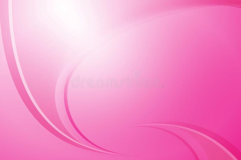 Pink color template, abstract backdround. The beautiful and design of abstract background, the colorful abstract background royalty free illustration