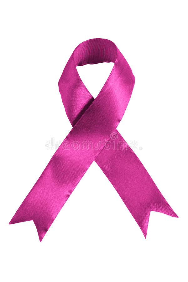 Download Pink Colored Breast Cancer Awareness Ribbon Stock Photo - Image: 16145852
