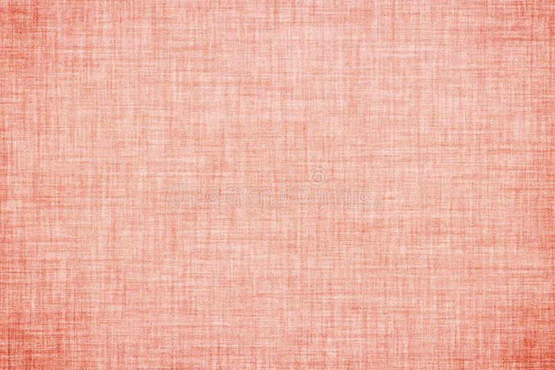 Pink colored linen texture or vintage canvas background. Natural pink colored linen texture or vintage canvas background royalty free illustration