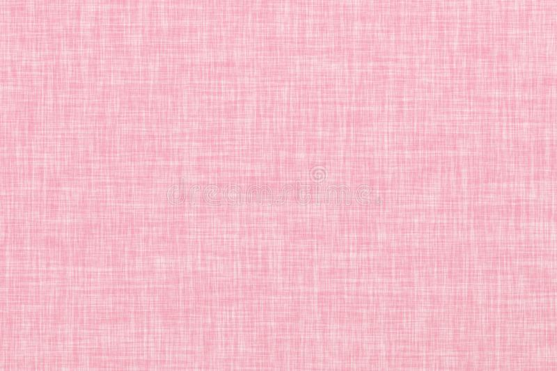Pink colored seamless linen texture background royalty free illustration