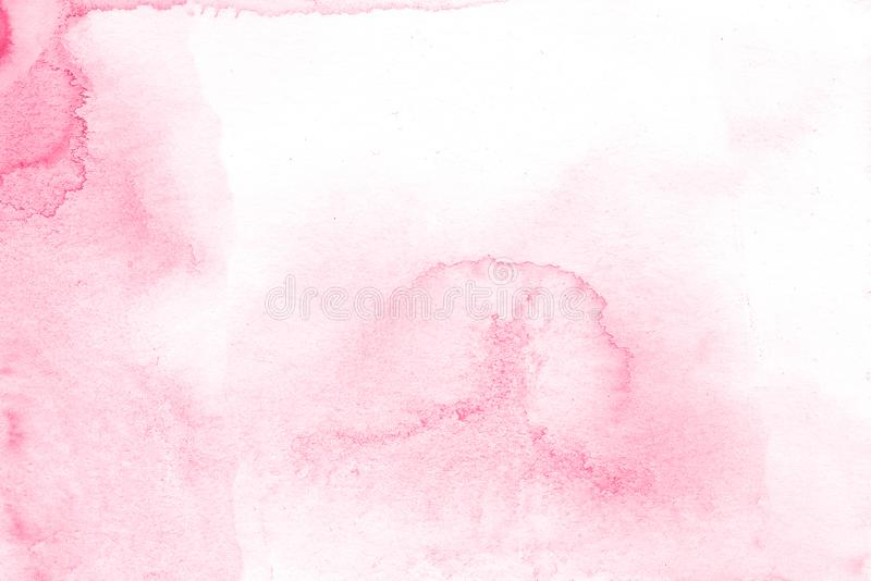 Pink creative flower watercolor texture background, beautiful creative planet. royalty free stock images