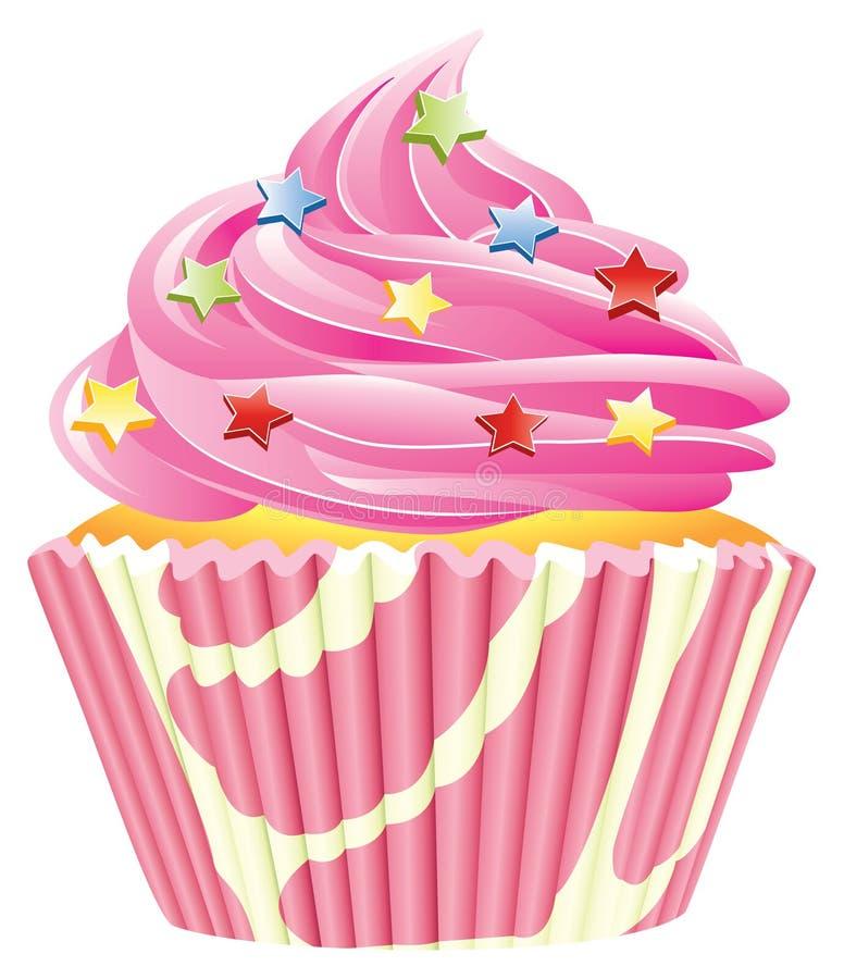 Free Pink Cupcake Royalty Free Stock Images - 13362819