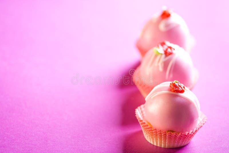 Pink Cupcakes Royalty Free Stock Photo