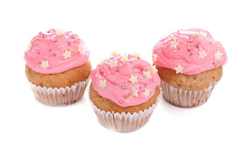 Download Pink Cupcakes stock photo. Image of dessert, delicious - 26847772