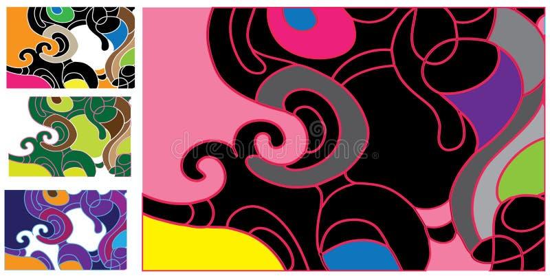 Pink_design vector illustration