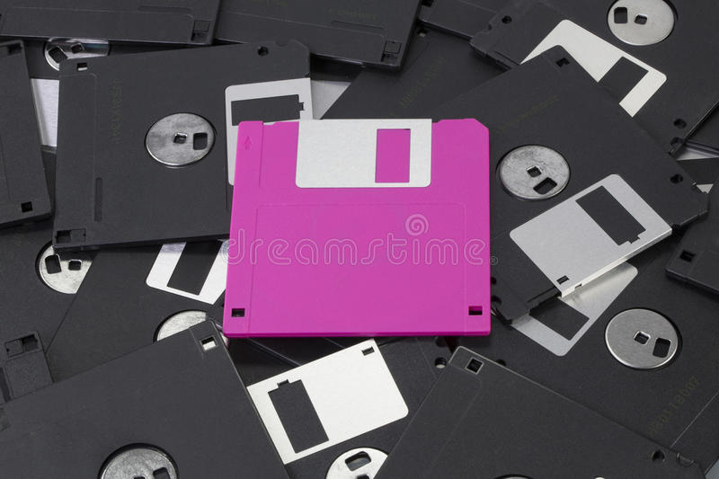 Download Pink Diskette Royalty Free Stock Photos - Image: 26192598