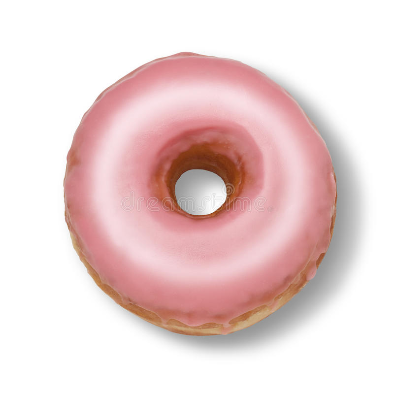 Download Pink Donut Royalty Free Stock Images - Image: 19727569