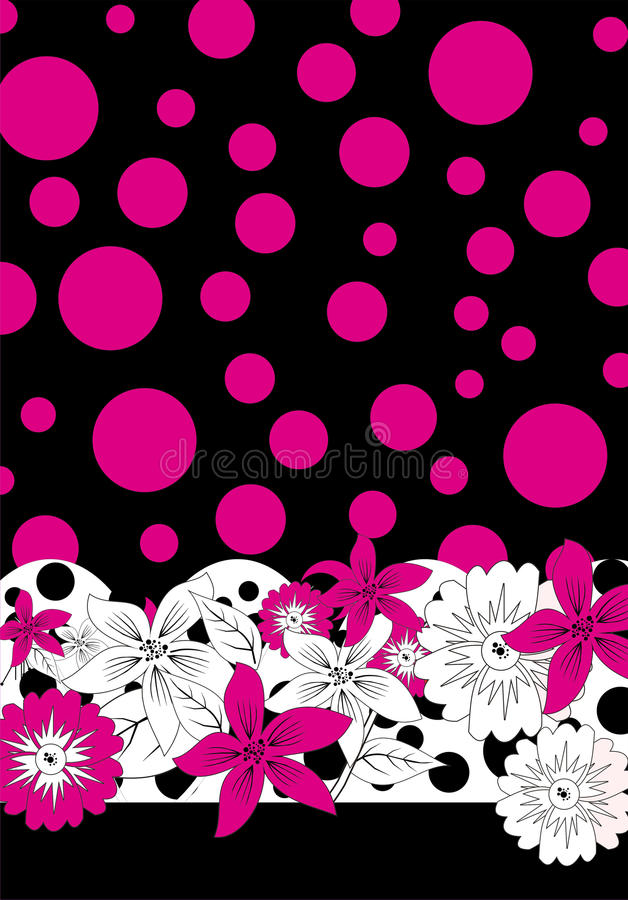 Pink dot stock images