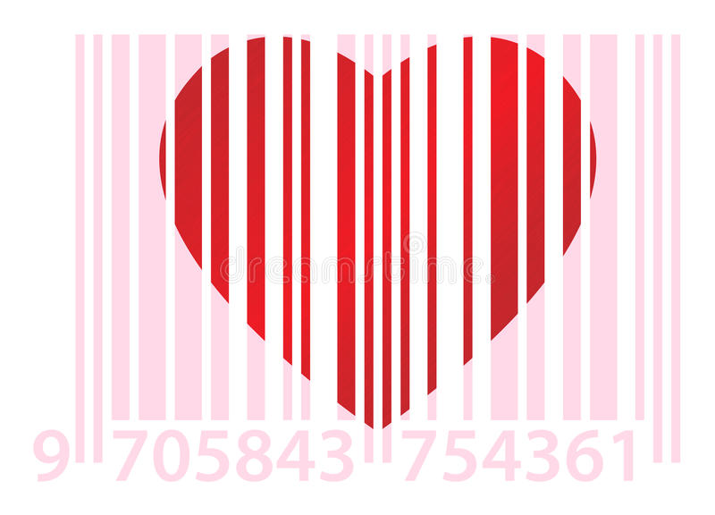 Download Pink Ean And Heart Royalty Free Stock Photo - Image: 12406505