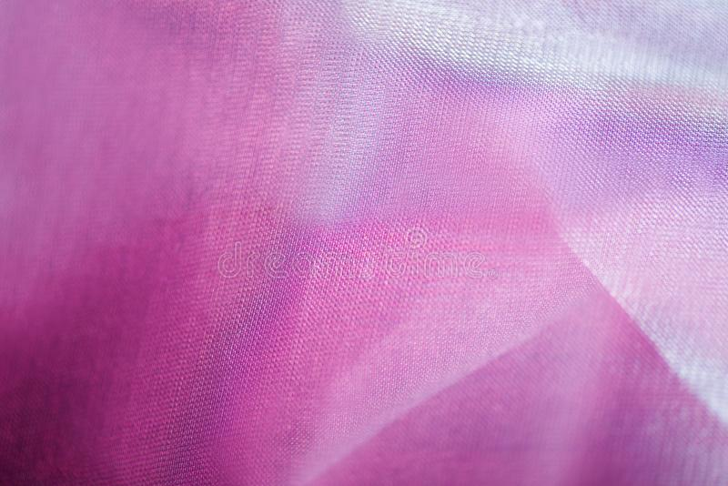 Pink fabric background stock photography