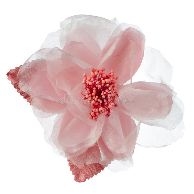 Download Pink fabric flower stock image. Image of handmade, fabric - 27243789