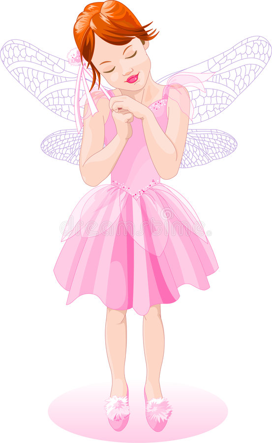 Download Pink Fairy stock illustration. Image of vertical, artificial - 9024929