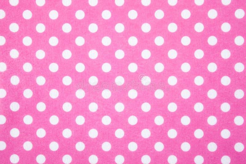 Download Pink Felt Polka Dot Background Stock Image - Image: 25057879