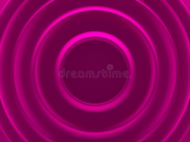 Pink female vortex. Glamour abstract stock illustration