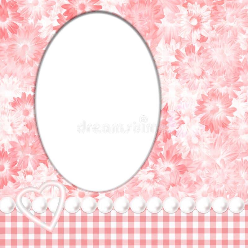Download Pink Feminine Frame stock illustration. Illustration of page - 1941426