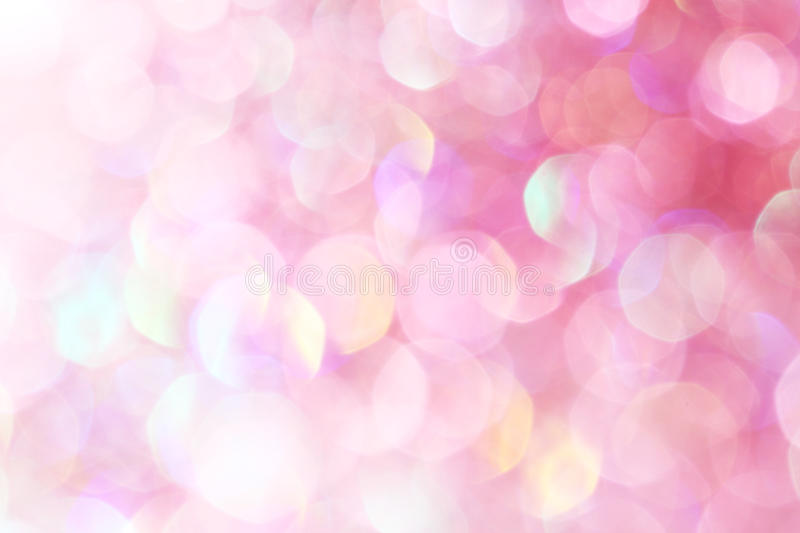 Pink festive Christmas elegant abstract background soft lights royalty free stock photography