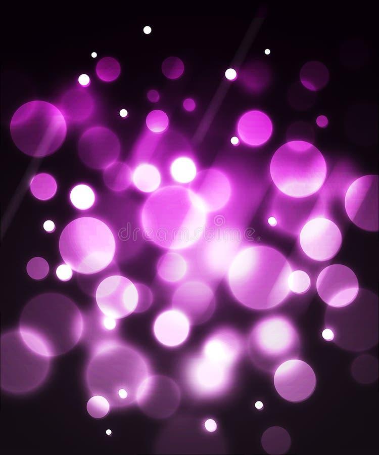Pink fiber optic effect background vector illustration