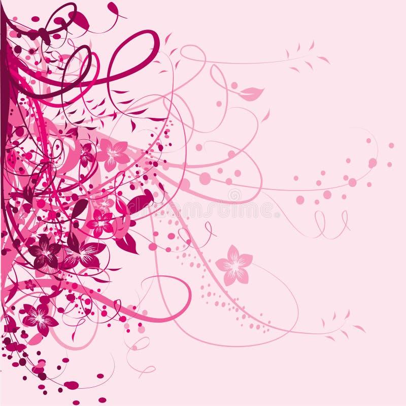 Download Pink floral background stock vector. Illustration of banner - 13779044