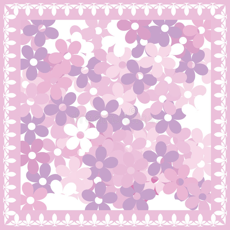 Download Pink floral card stock illustration. Image of backdrop - 10914809