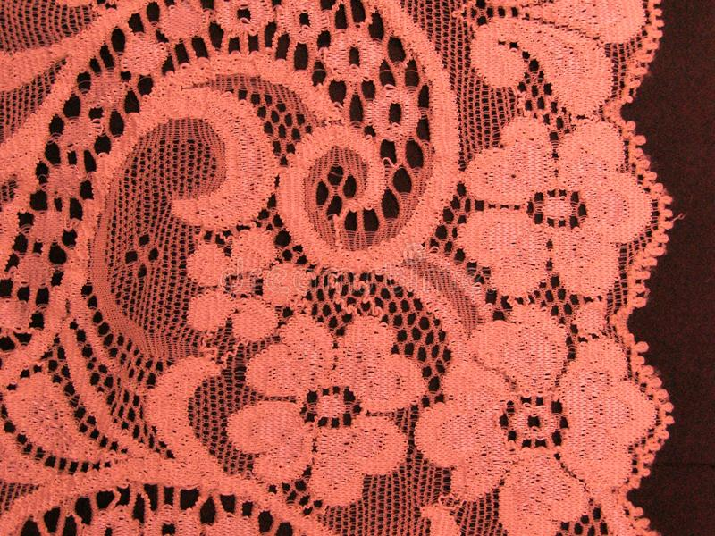 Download Pink floral lace band stock image. Image of skirt, chantilly - 23352757