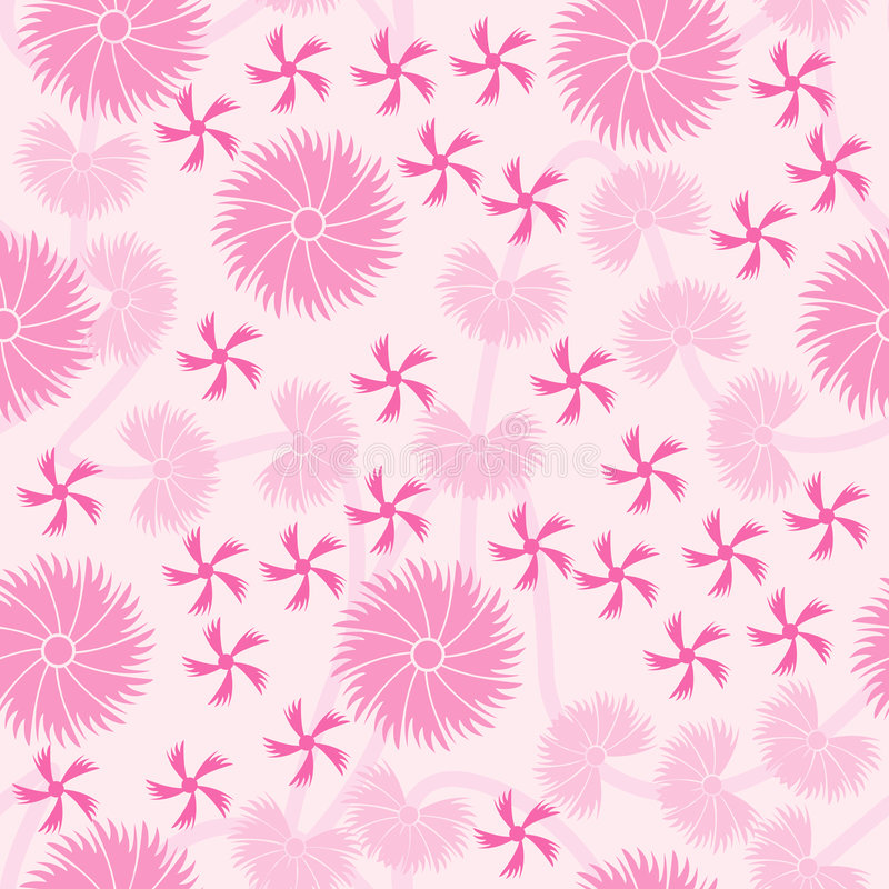 Pink Floral seamless pattern background royalty free stock photo