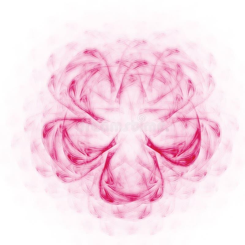 Pink flower stock illustration
