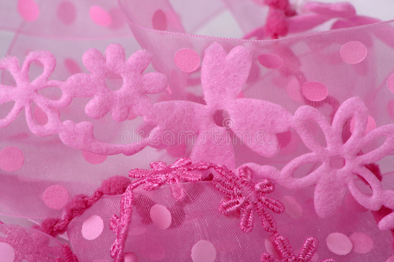 Download Pink Flower Lace Background Stock Image - Image: 3855317